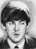 Paul Mccartney by RebeccaJonesArt