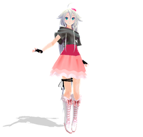 MMD Newcomer - Sapphire-style IA by SapphireRose-chan
