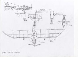 Steampunk Fighter Plane by Imperator-Zor