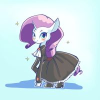 Rarity in Black Dress by conbudou