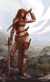 Red Sonja by c-a-s