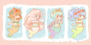 Adopt a Mermaid [Open] by grandmaprincess