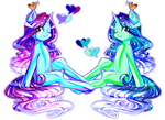 MLP Adopt auction PayPal Open. 2 Jelly Ponies by MinamiKoboyasy