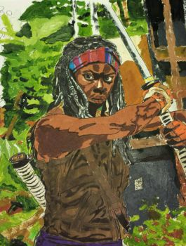 Michonne 2015 (2) by blondon200