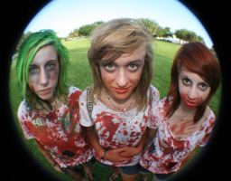 Zombie Chicks by conceptionism