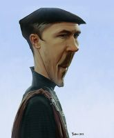 Petyr Baelish Caricature by Yohan-2014