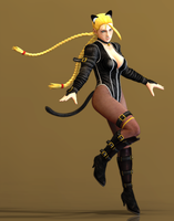 Cammy armstrong kitty costume by agekei