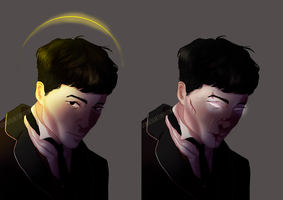 Credence Barebone by downtheartsyhollow