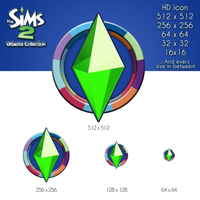 The Sims 2 Ultimate Collection HD Icon by Spiker90910