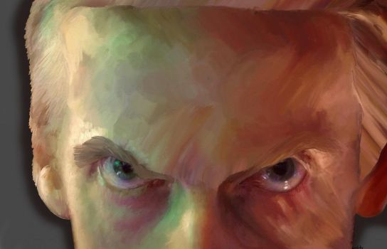 Peter Capaldi - The Thirteenth/Twelfth Doctor by OurStrangeDuet