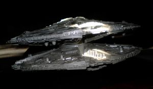 Cylon Base Star - Pic 1 by CyberDrone