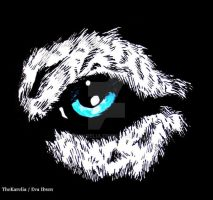Wolf eye tattoo design... by TheKarelia