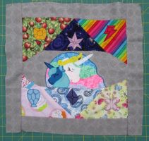 Finished EFNW Charity Quilt Square S1 E2 by Drachefrau