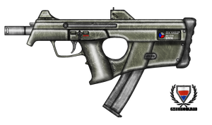 Fictional Firearm: HC-110 Submachine Gun by CzechBiohazard