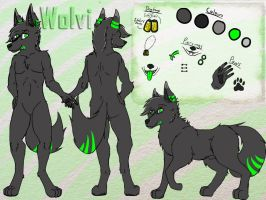 Wolvi Reference by lymewolf