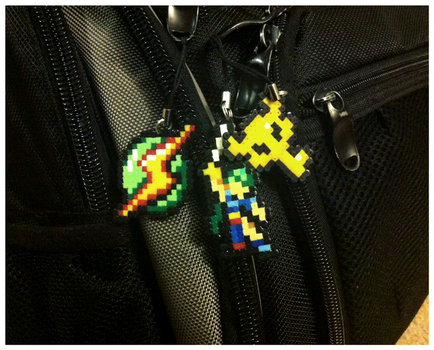 Various Nintendo Charms by Night-TAG