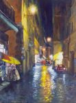 Illuminated - Rome - Oil Painting by AstridBruning