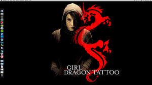 Girl with the Dragon Tattoo by KittieVampire
