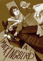 To Kill a Mockingbird by TaraGraphic