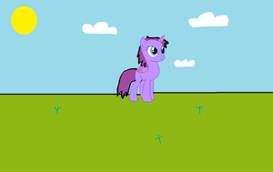 Canni playing in the fields by domoqueen16