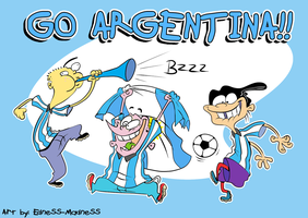 EEnE_Go Argentina! by Edness-Madness