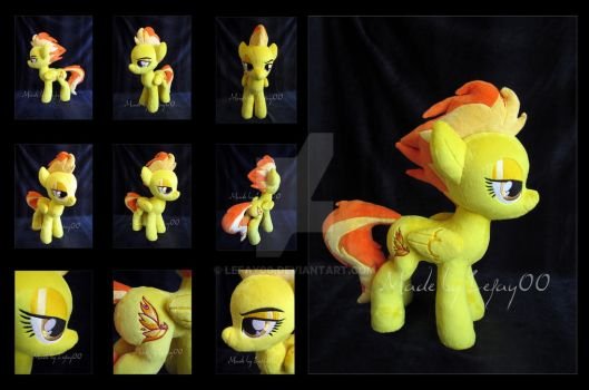 Spitfire Pony Plush by LeFay00