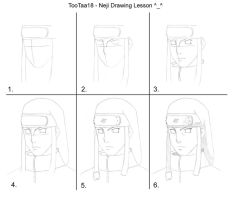 Neji drawing tutorial by tootaa18