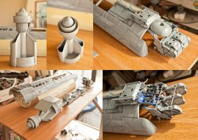 Space caravel 2 by Andirilien