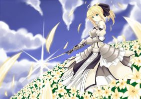 White Song of the Lilys by Kanda-Yakumo