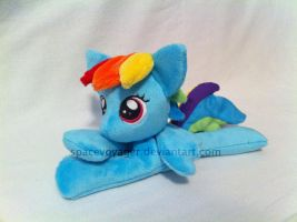 Rainbow Dash beanie by PlanetPlush