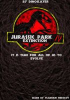 Fan made Jurasic Park poster by T-PEKC