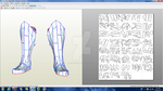 Skyrim Nord Plate Boots Download by ZombieGrimm