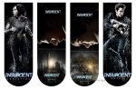 Insurgent Posters Bookmarkers by angiezinha