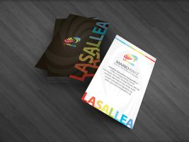 Lasallea business card by Lemongraphic