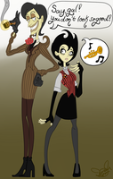 Maxine and Wilma by PanicPlace