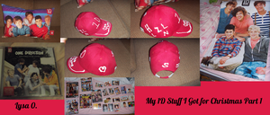 My 1D Stuff I Got For Christmas Part 1 by iluvlouis