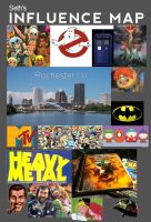 My Influence Map by HarveyHarpy