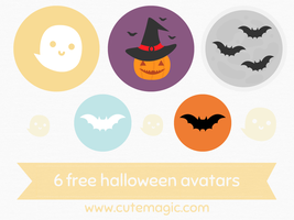 Halloween Avatars by apparate