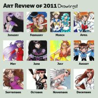 Sakky Summary of Art 2011 - Drawings by sakkysa