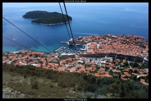 Dubrovnik From Above by HerrDrayer
