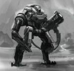 SpeedPaint Mech 02 by Ubermonster