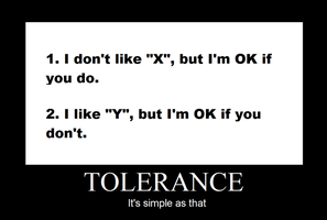 Tolerance by waraulol