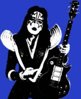 Ace Frehley Stencil by The-Red-Jack03