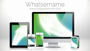 Whatsername Wallpaper Pack by CPDigitalDarkroom