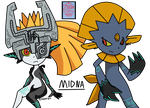 The Twili Imp and the Weavile by Adam1704