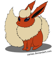 Flareon by careas