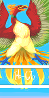 Rainbow Color Pokemon - Ho-Oh by Lollergator