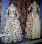 Colonial day gowns by SynysterPuce