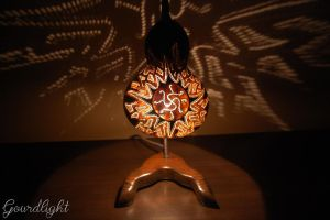 Table lamp V by gourdlight