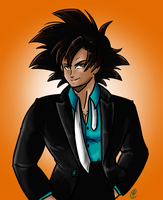 Turles in a suit by Budgies